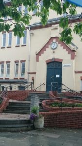 Nordnes skole, skolegården